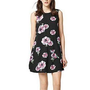 Warehouse Ocean Floral Swing Dress
